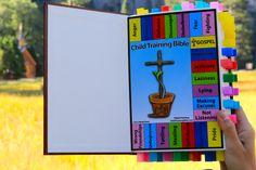 Make a Child Training Bible.  www.ChildTrainingBible.com