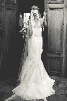 Wedding dress by La