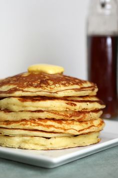 First day back to school always feels better with a stack of pancakes!