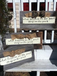"""porch signs welcome my porch 