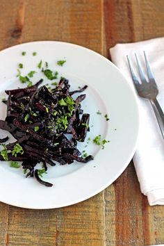 // Fried Beets