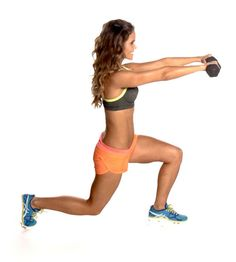 Tone It Up Workout, Day Nine: Total Body  Now you're ready to give your workout a boost with this total body routine. You're going to comb...