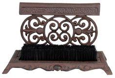 boot scraper, shoe scraper, iron shoe, dream hous, brushes, design usa, esschert design, cast iron, boots