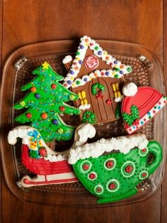 amazing christmas cookie decorations!
