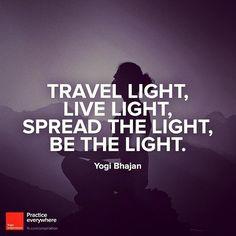 #bethelight #travelquote