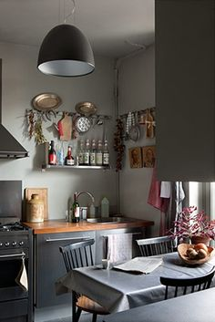 Gorgeous grey kitchen