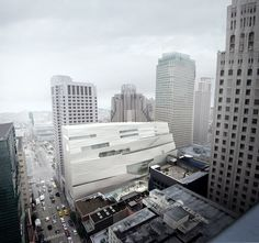 San Franciscos MoMA. Architecture by Snøhetta by re-Design, via Flickr
