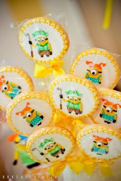 Despicable Me 2 Party with Lots fof Cute Ideas via Kara's Party Ideas KarasPartyIdeas.com #DespicableMeParty #MinionParty #PartyIdeas #Suppl...