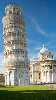 Tower Of Pisa,  Tuscany, Central Italy