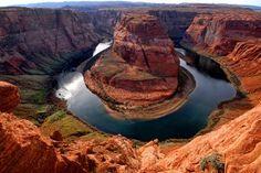 colorado river, horsesho bend, arizona, natur, horseshoes, glen canyon, travel, place, rivers