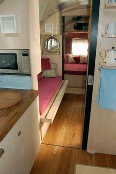 Airstream Caravan after refurbishment
