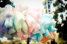 cotton candy.