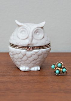 Getting Owl Organized Keepsake Box, #ModCloth