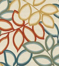 Upholstery Fabric- Richloom Studio Poeme Tropical