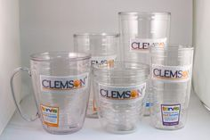Clemson Tervis Tumblers available in all sizes!