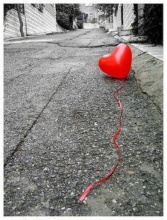 red heartshap, splash, color, red balloon, valentin, lost heart, red heart balloons, heartshap balloon, corazon