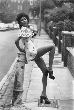 Ossie Clark's Mini Dress, 1973