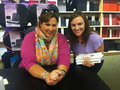 "Got to meet Jen Lancaster at a signing for ""The Tao of Martha"".....Love her books!!!"