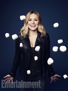 """Kristen Bell Of The""""Veronica Mars""""Movie! Time To Rock,Marshmallows!"""