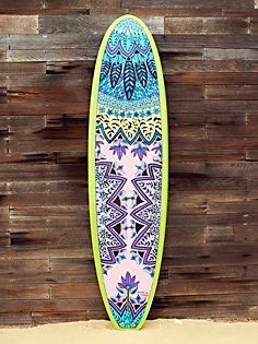 Custom Painted Stand Up Paddle Board - yes please