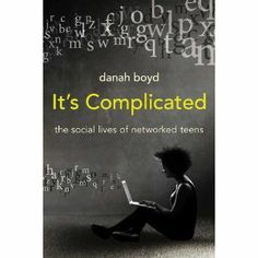 It's Complicated: The Social Lives of Networked Teens by Danah Boyd: They do so much socializing online mostly because they have little choice, Boyd says: parents now generally consider it unsafe to let kids roam their neighborhoods unsupervised. http://www.technologyreview.com/qa/522421/parents-dont-panic-about-your-kids-social-media-habits/ #Books #Kids #Social_Media