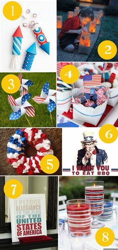 Sunshine and Bones: Fourth of July Craft and Food Ideas