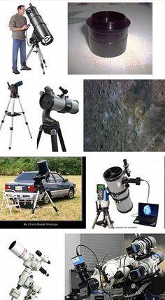 Сделай сам своими руками мощный телескоп 37