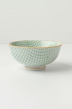 I'd love to have a mix and matched set of the cute bowls!