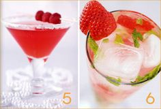 Preggatinis non-alcoholic drinks for mothers-to-be...