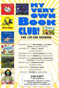 My Very Own Book Club! | Wylie TX