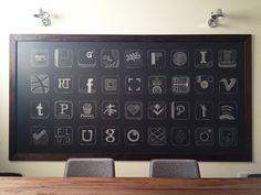 DIY Chalkboard by @garrettgee