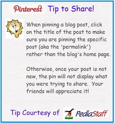 Pinterest Tip to Share! -  Pinned by @PediaStaff – Please Visit http://ht.ly/63sNt for all our pediatric therapy pins