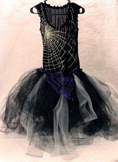 Witch Tutu Halloween Costume.