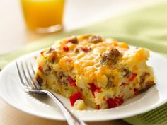Impossibly Easy Breakfast Bake (Gluten Free) @Betty Crocker