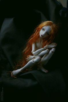 Bjd de l'artiste Lidia Snul
