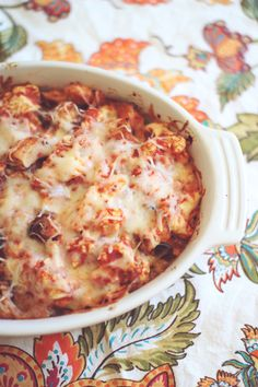 The Best Parmesan Chicken Bake! #recipe #bake #casserole #parmesan #chicken #easy