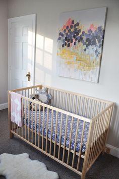 Scandinavian Nursery - Girl Nursery Ideas
