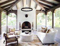 Buckhead Residence - contemporary - porch - atlanta - Yvonne McFadden LLC
