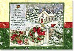 Susan Winget Christmas card