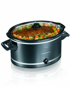 Hamilton Beach 8 Quart Oval Slow Cooker for $34.87