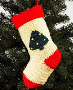 Image of Christmas Tree Christmas Stocking