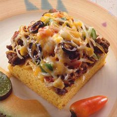 dinner, squares, food, easy square recipes, easy cornbread recipe, mexican cornbread, cornbread squar, cheesi mexican, land olak