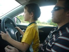 First driving lesson