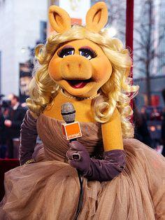 Constant reinvention. miss piggy - muppets