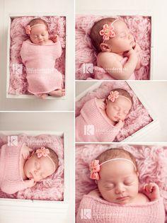 Baby Headband, Pink Flower Headband, Newborn Headband, Children Headband, Baby Girl Headband, Baby Flower Headband. $9.00, via Etsy.
