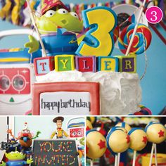 Toy Story 3 Birthday Party!  My son would so LOVE this