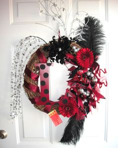 University of South Carolina Gamecocks Wreath. $69.00, via Etsy.