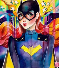 Batgirl by Rian Gonzales *