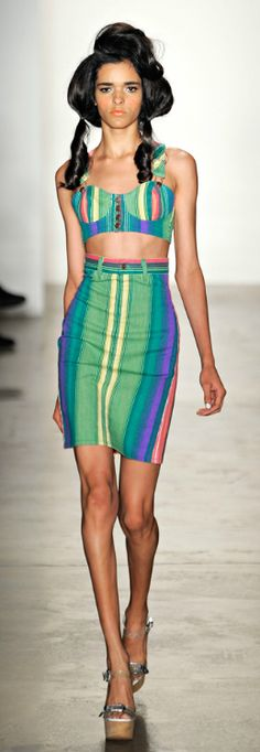 style colour, colorful fashion, jeremi scott, jeremy scott