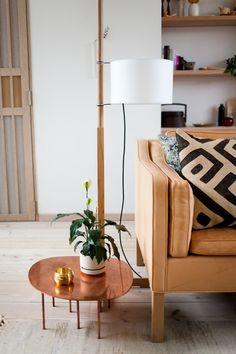 copper Zoo table by Claesson Koivisto Rune